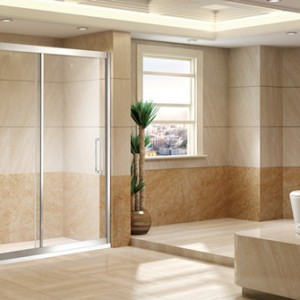 Shower glass room