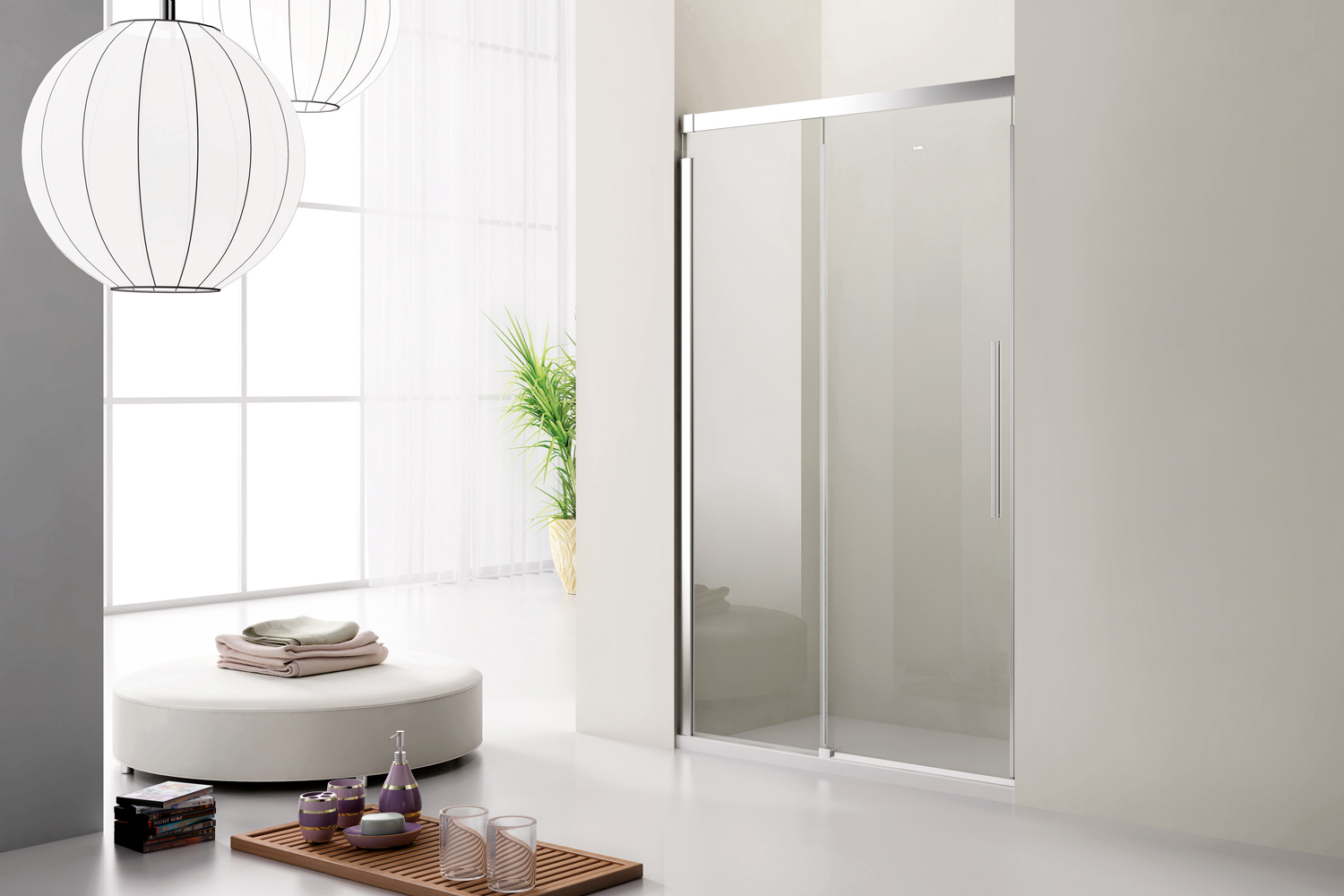 Folding Shower  Screen