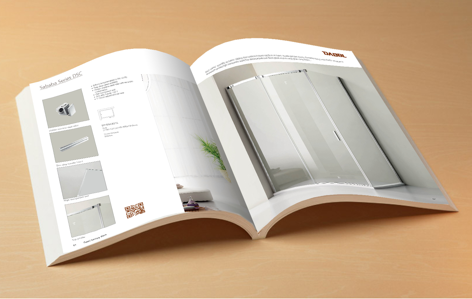 shower door Order brochure