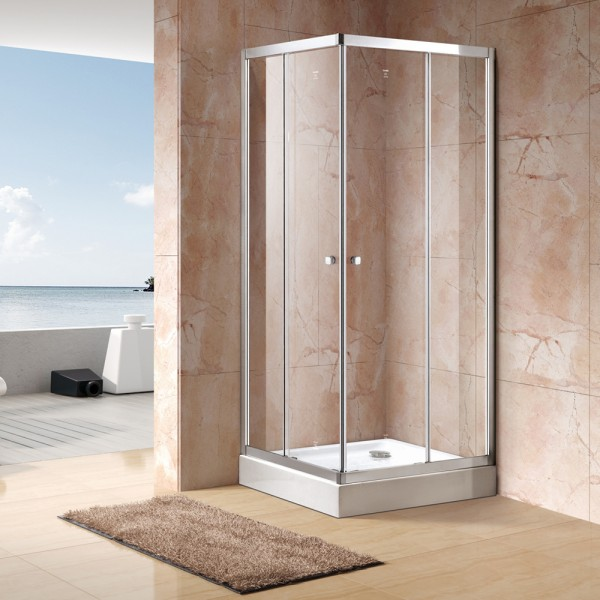 Corner shower Sliding Door DY-DCB694
