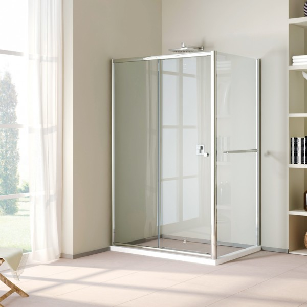 Rectangle shower Single Sliding Door DY-DF821