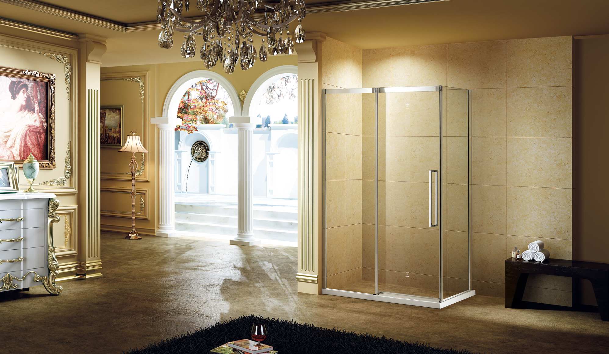 Frameless Shower Enclsoures
